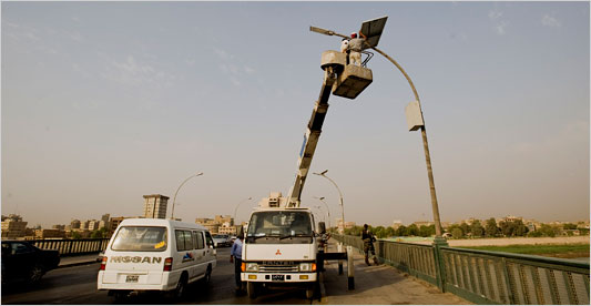 Solar Power Lights in Africa
