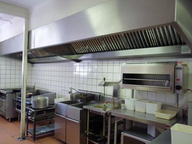 Restaurant equipment in Africa