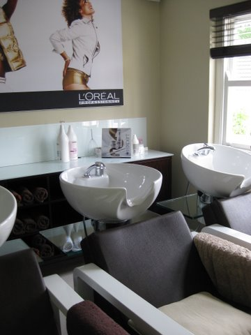 Spa to salon to counter in Africa
