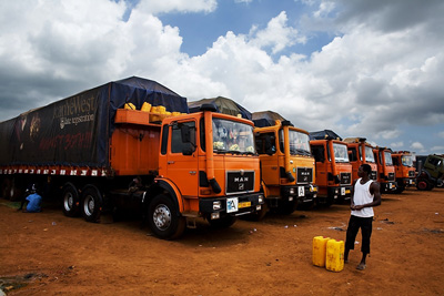 Trucking companies in Africa