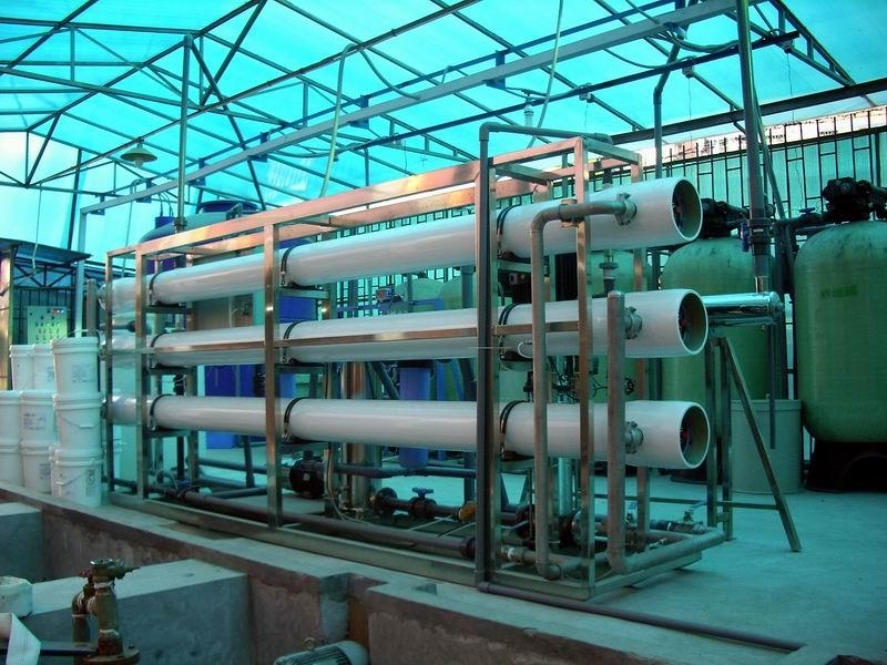 Water purification equipment in Africa