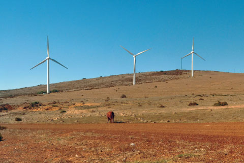Power from the wind in Africa