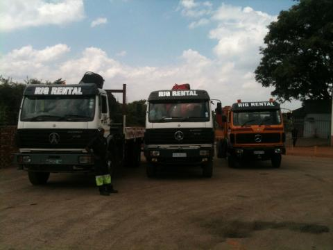 Trucks for Hire Rental Africa