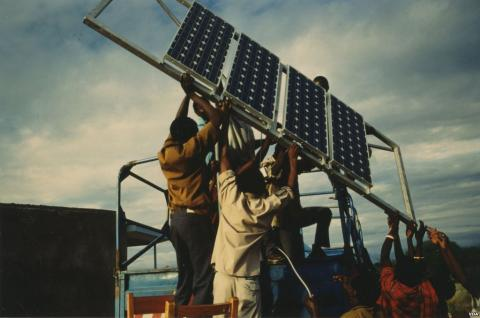 Solar Energy Illuminates in Africa