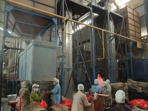 Groundnut Processing Plant in Africa