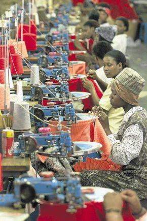 the manufacturing labour market in Africa