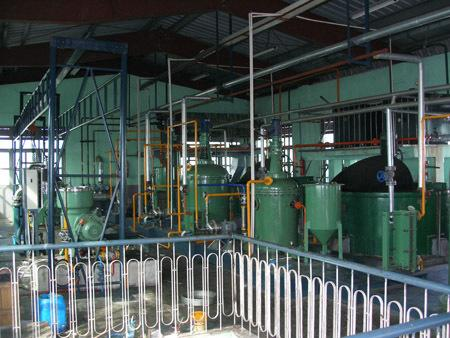 Oil Refining Plant in Africa