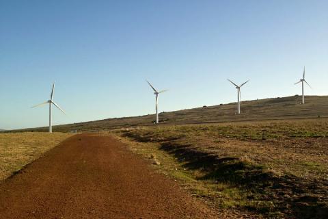 Africa wind turbines