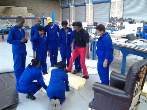 Furniture Making School in Africa