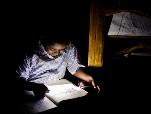 education in Africa with Solar