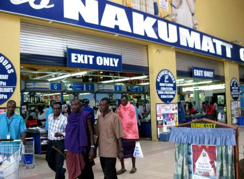 retail chain, has opened in Africa