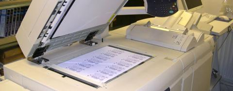 Photocopying services up paper size in Africa