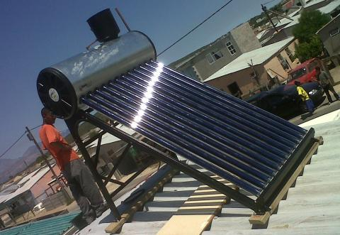 Solar Water Heater in Africa