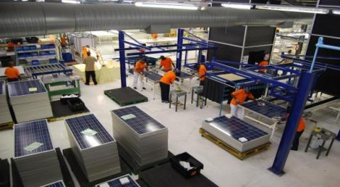 manufacturer of photovoltaic panels in Africa